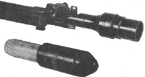 Japanese shaped charage rifle grenade