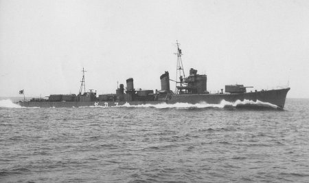 Photograph of Shiratsuyu-class destroyer