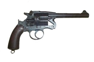 Photograph of Enfield revolver