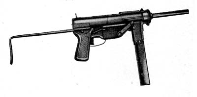 Photograph of M3 submachine gun