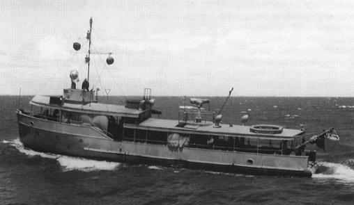 Photograph of Smeroe-class minesweeper