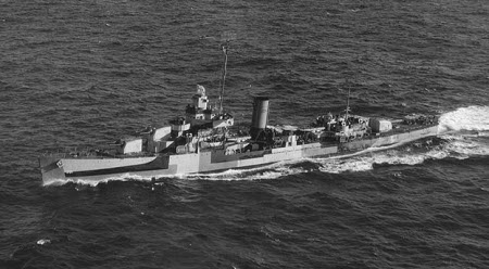 Photograph of Somers-class destroyer