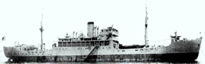 Photograph of munitions ship Soya