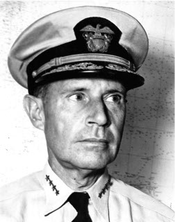 Photograph of Admiral Raymond Spruance