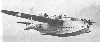 Photograph of Sunderland flying boat