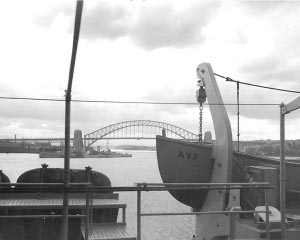 Photograph of Sydney harbor