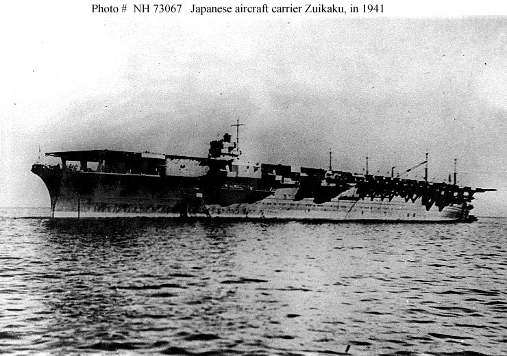 The Pacific War Online Encyclopedia: Shokaku Class, Japanese