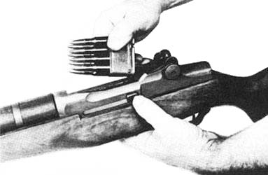 M1 rifle and clip