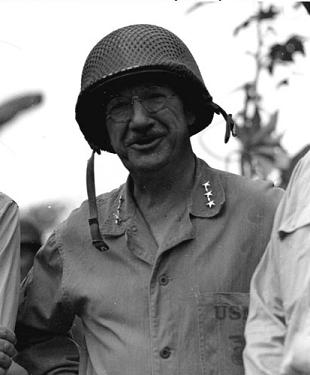 Photograph of General Holland M. Smith