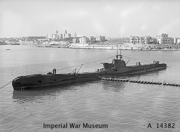 Photograph of T1 class submarine