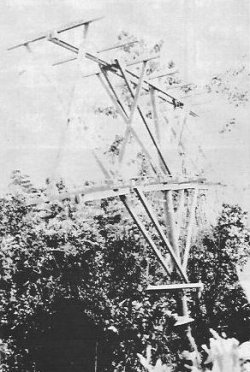 Photograph of Taichi-6 radar receiver antenna