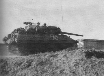 Photograph of M-10 tank destroyer