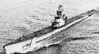 Photograph of Tench-class submarine