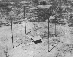 "Photograph of Japanese         ""Adcock"" direction finder"