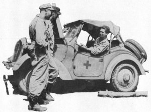 Photograph of Type 95 scout car