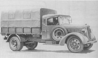 Photograph of Type 97 truck
