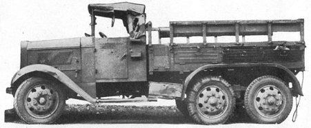 Photograph of Type 94 truck