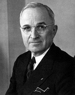 Photograph of President Harry S. Truman