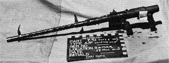 Photograph of Type 1 machine gun