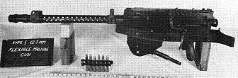 Photograph of Type 1 machine gun in flexible mount