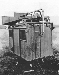 Photograph of Type 32 radar