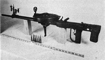 Photograph of Type 89 machine gun