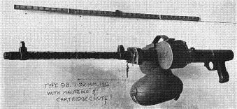 Photograph of Type 98 machine gun