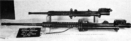 Photograph of Type 99 variants