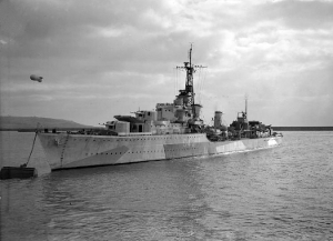 Photograph of Tribal-class destroyer