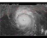 Satellite photograph of tropical cyclone
