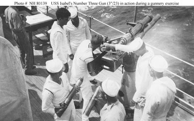 "Photograph of 3""/23 gun and crew"