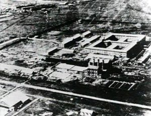 Photograph of Unit 731 main complex
