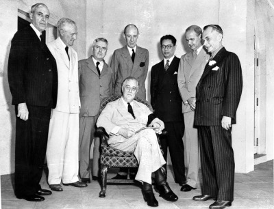 Photograph of the Pacific War         Council
