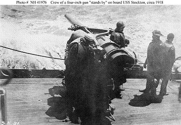 "Photograph of U.S. 4""/50 gun"