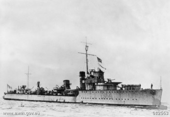Photograph of Vampire-class destroyer