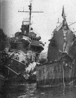 Photograph of Selfridge and O'Bannon after the battle