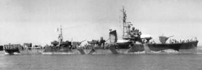 Photograph of W-21, a W-19 class fast minesweeper