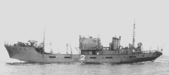 Photograph of W-2, a W-1 class minesweeper