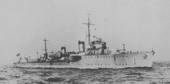 Photograph of W-5 class minesweeper