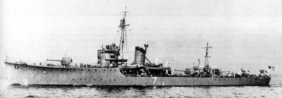 Photograph of W-7 class fast minesweeper