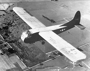 Photograph of Waco CG-4 glider