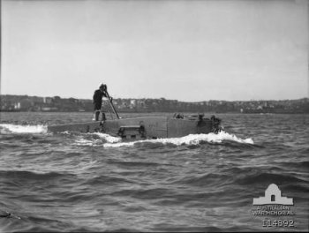 Photograph of XE midget submarine