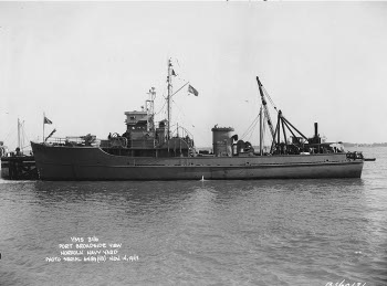 Photograph of YMS-class auxiliary minesweeper