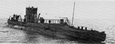 Photograph of YU-1 class submarines