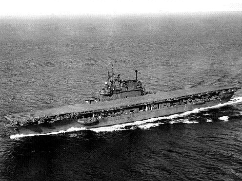 Photograph of Yorktown-class carrier