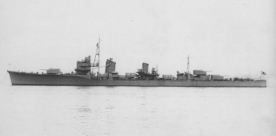 Photograph of Yugumo-class destroyer