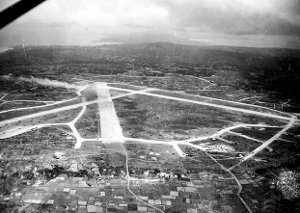 Photograph of Yontan airfield