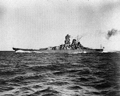 Photograph of the           Yamato